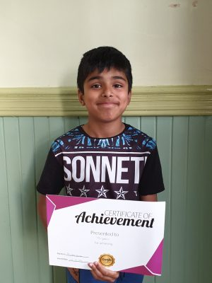 Congratulations to Tanjeev on his Star Reward! Great work with his tutor at Genie Tutors Spring Hill. Well done!