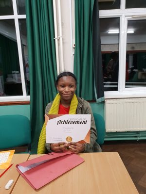 Congratulations to Muso on her deserved reward! Keep up the good work with your tutors at Genie Tutors Harborne!