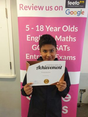Congratulations to Harvey on his Achievement! Brilliant work with his tutor at Genie Tutors Edgbaston. Keep up the good progress!