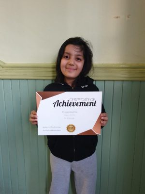 Congratulations to Behasta on her deserved reward. Well done, great progress at Genie Tutors Spring Hill.