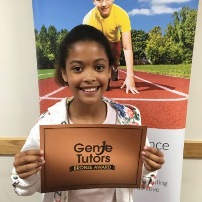 A brilliant start for Darcey at Genie Tutors Redditch. She's got her bronze and is gaining lots of skills which will set her in good stead for her 11+ exam coming up.