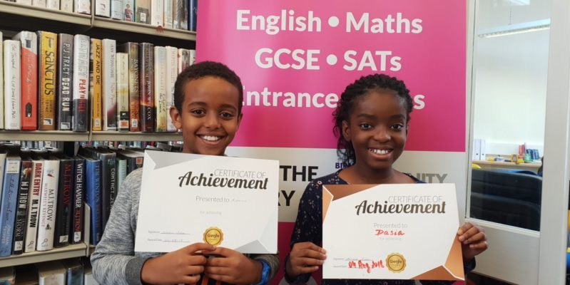 Congratulations to Dasia and Aman at Genie Tutors Kings Heath on their new rewards! Keep up the good work!