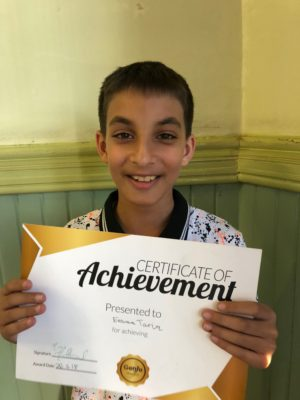Congratulations to Eesaa for his Gold reward! You worked very well with your tutor! Keep up the good progress!