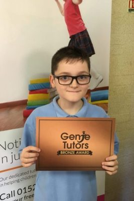 Congratulations to Dom for fantastic maths work at Genie Tutors Bromsgrove.