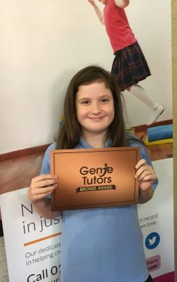 Congratulations to Abi for brilliant English work at Genie Tutors Bromsgrove.
